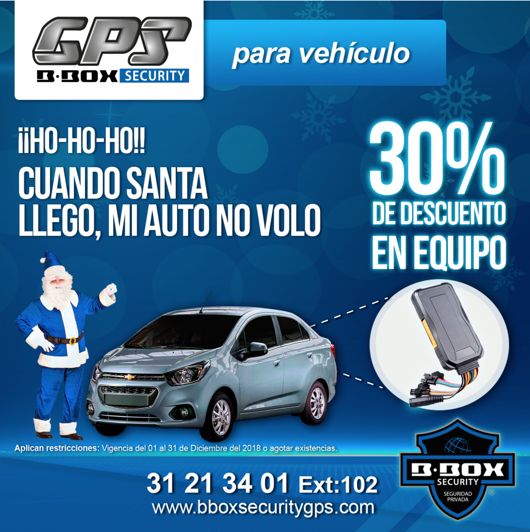 BBOX Security Seguridad guardias virtuales promocion coche - Servicio de Rastreo Satelital y GPS en Guadalajara | BBOX Security